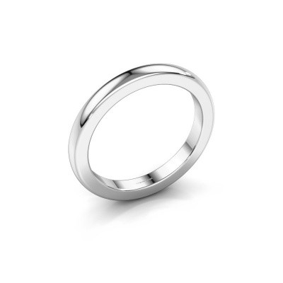 Picture of Stackable ring Astrid 25 mm 375 white gold