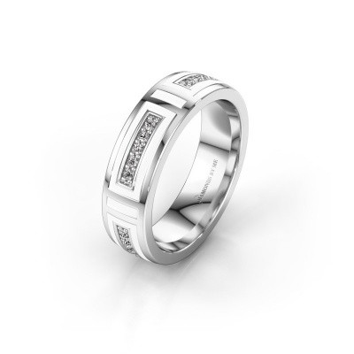 Wedding ring WH2228L25A 925 silver ±5x1.7 mm