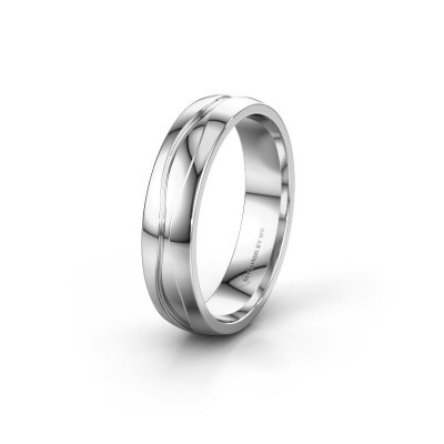 Wedding ring WH0172M25A 925 silver ±0.20x0.07 in