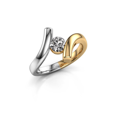 Ring Amy 585 goud diamant 0.50 crt