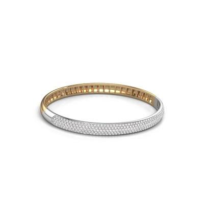 Foto van Armband Emely 6mm 585 goud lab-grown diamant 2.013 crt