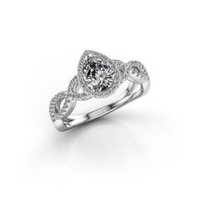 Foto van Verlovingsring Dionne 925 zilver diamant 3.42 crt