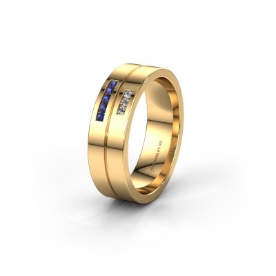 Ehering WH0207L16AP 585 Gold Saphir ±6x1.7 mm