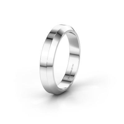 Trouwring WH2106M14C 925 zilver ±4x2 mm