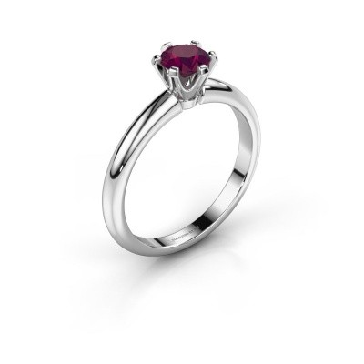 Picture of Engagement ring Tiffy 1 925 silver rhodolite 5 mm