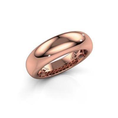 Foto van Ring Emely 7 375 rosé goud