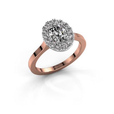 Engagement ring Jorinda 1 585 rose gold diamond 1.08 crt