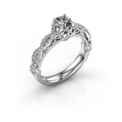 Foto van Verlovingsring Chantelle 950 platina diamant 0.892 crt