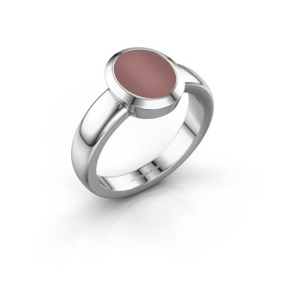 Signet ring Freeda 1 950 platinum carnelian 10x8 mm