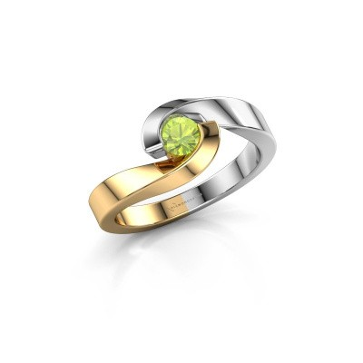 Picture of Ring Sheryl 585 gold peridot 4 mm