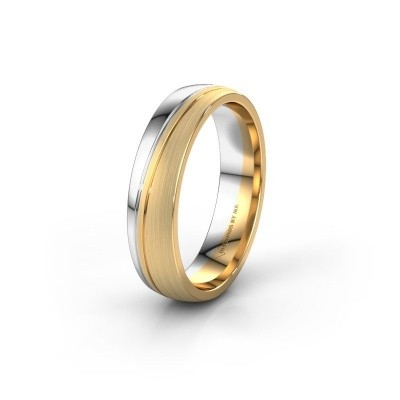 Wedding ring WH0909M25X 585 gold ±5x1.5 mm