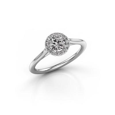 Engagement ring Seline rnd 1 950 platinum diamond 0.505 crt