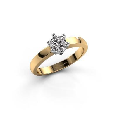 Verlovingsring Luna 1 585 goud diamant 0.40 crt