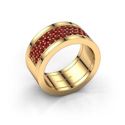 Foto van Ring Marita 7 585 goud robijn 1.7 mm