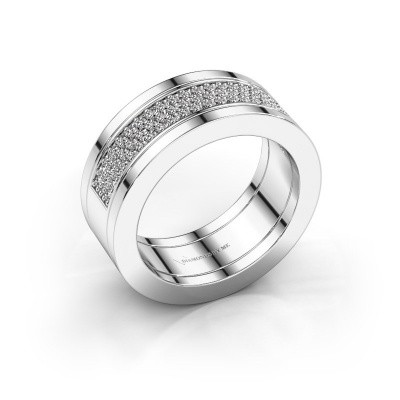 Foto van Ring Marita 2 925 zilver diamant 0.436 crt
