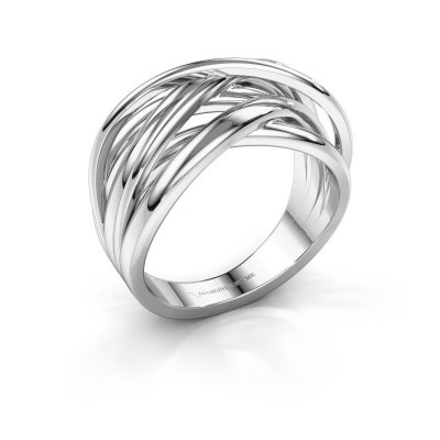 Photo de Bague Fem 1 585 or blanc