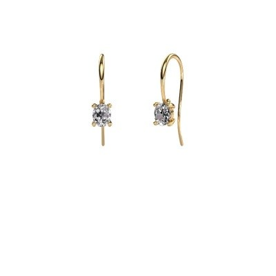 Picture of Drop earrings Cleo 585 gold diamond 1.00 crt