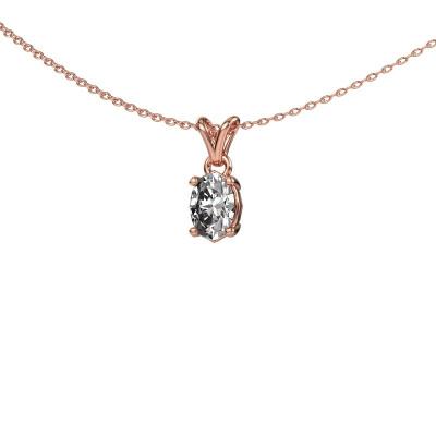 Foto van Ketting Lucy 1 375 rosé goud lab-grown diamant 0.80 crt