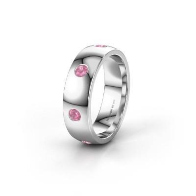 Ehering WH0105L26BP 950 Platin Pink Saphir ±6x2 mm