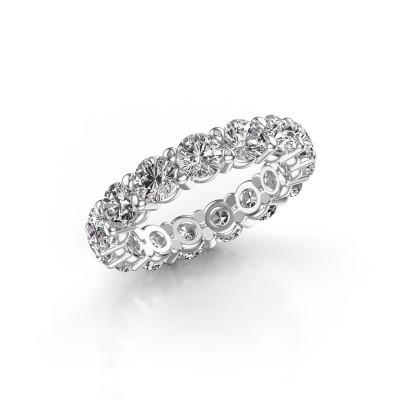 Foto van Ring Heddy rnd 4.2 585 witgoud lab-grown diamant 4.50 crt