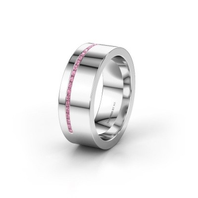Ehering WH0143L17BP 950 Platin Pink Saphir ±7x2 mm