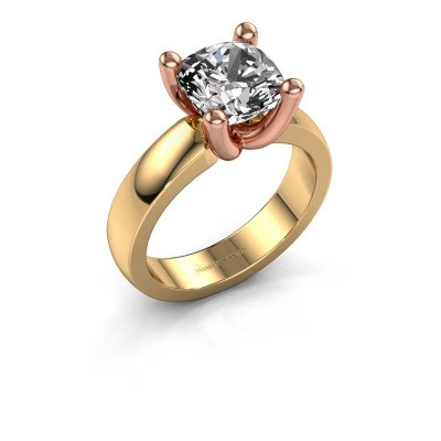 Ring Clelia CUS 585 gold diamond 3.60 crt