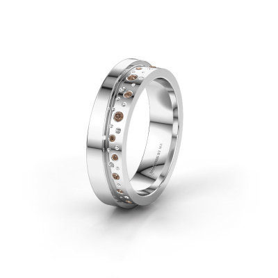 Ehering WH6016L15E 950 Platin Braun Diamant ±5x2.6 mm