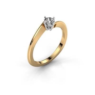 Foto van Verlovingsring Ingrid 585 goud lab-grown diamant 0.25 crt
