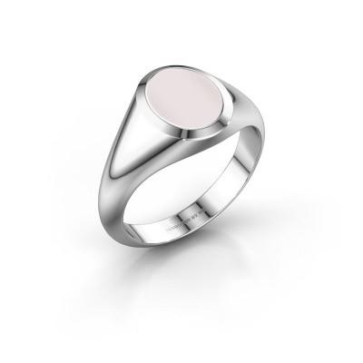 Signet ring Evon 1 925 silver red sardonyx 10x8 mm