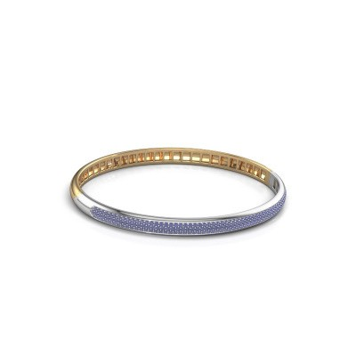 Armband Emely 5mm 585 goud saffier 1.1 mm