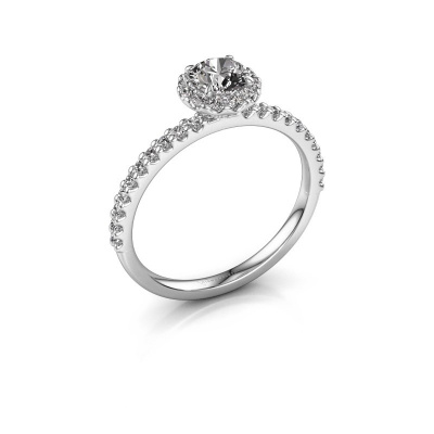 Foto van Verlovingsring Miranda rnd 585 witgoud diamant 0.86 crt