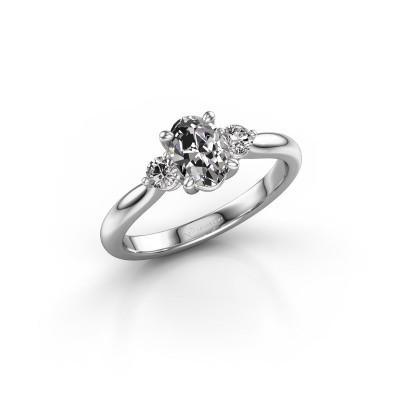 Foto van Verlovingsring Lieselot OVL 585 witgoud lab-grown diamant 0.76 crt