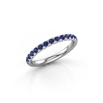 Picture of Stackable ring Jackie 2.0 585 white gold sapphire 2 mm