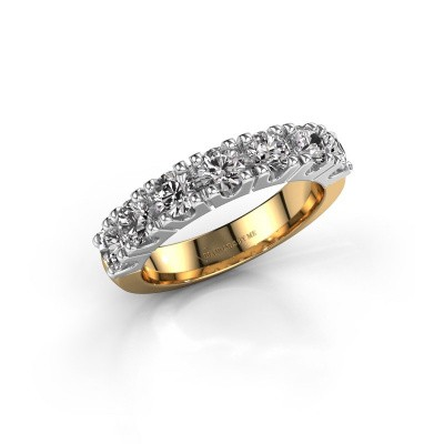 Engagement ring Rianne 7 585 gold diamond 0.385 crt