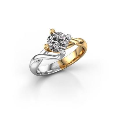 Bild von Verlobungsring Paulien 585 Gold Diamant 1.00 crt