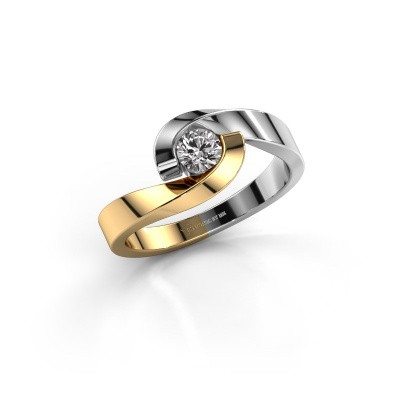 Bild von Ring Sheryl 585 Gold Lab-grown Diamant 0.25 crt