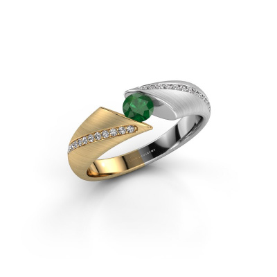 Picture of Ring Hojalien 2 585 gold emerald 4 mm