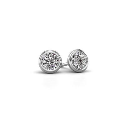 Foto van Oorstekers Shemika 925 zilver diamant 0.50 crt