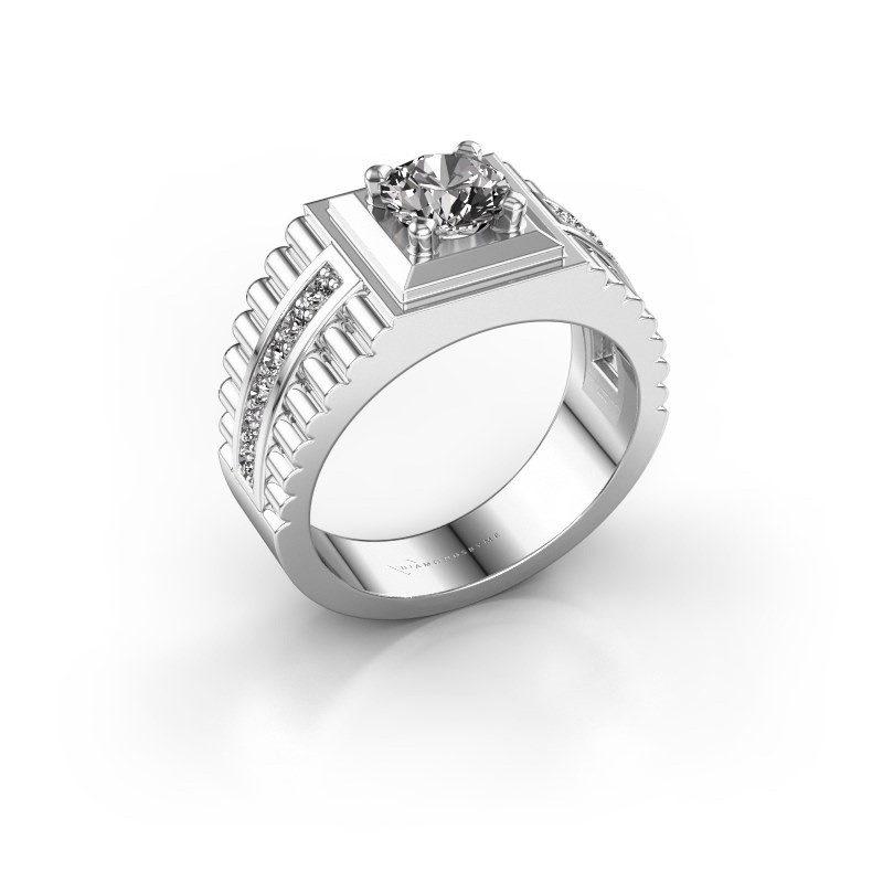 Men's ring Maikel 950 platinum diamond 1.30 crt