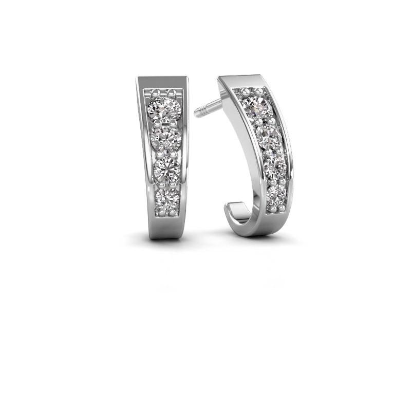 Oorbellen Glady 585 witgoud diamant 0.51 crt