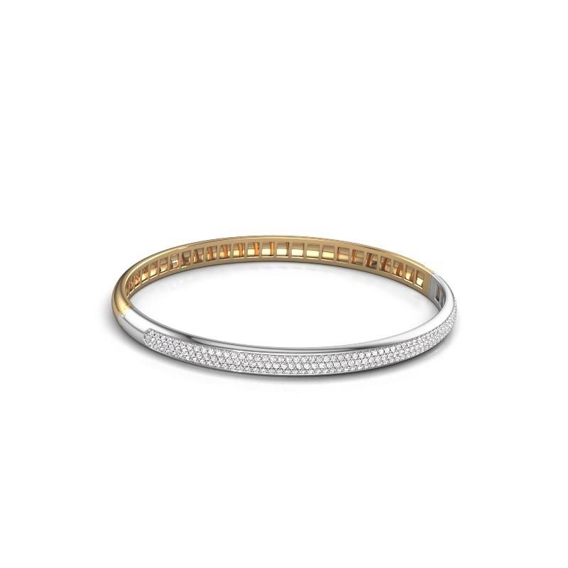 Armband Emely 5mm 585 goud zirkonia 1.1 mm