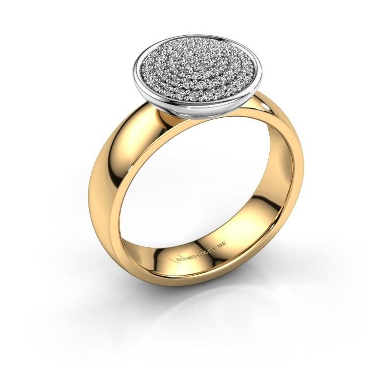 Ring Tilda 585 goud diamant 0.305 crt