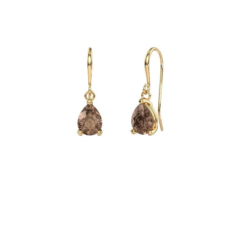 Oorhangers Laurie 1 585 goud bruine diamant 0.95 crt