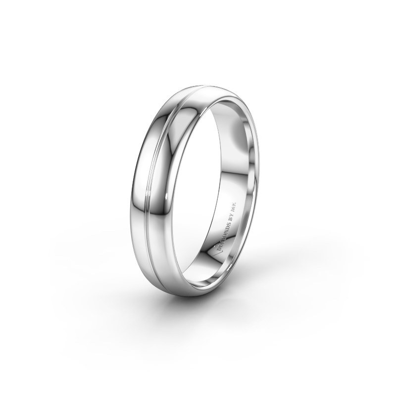 Wedding ring WH0221M35X 925 silver ±5x1.5 mm