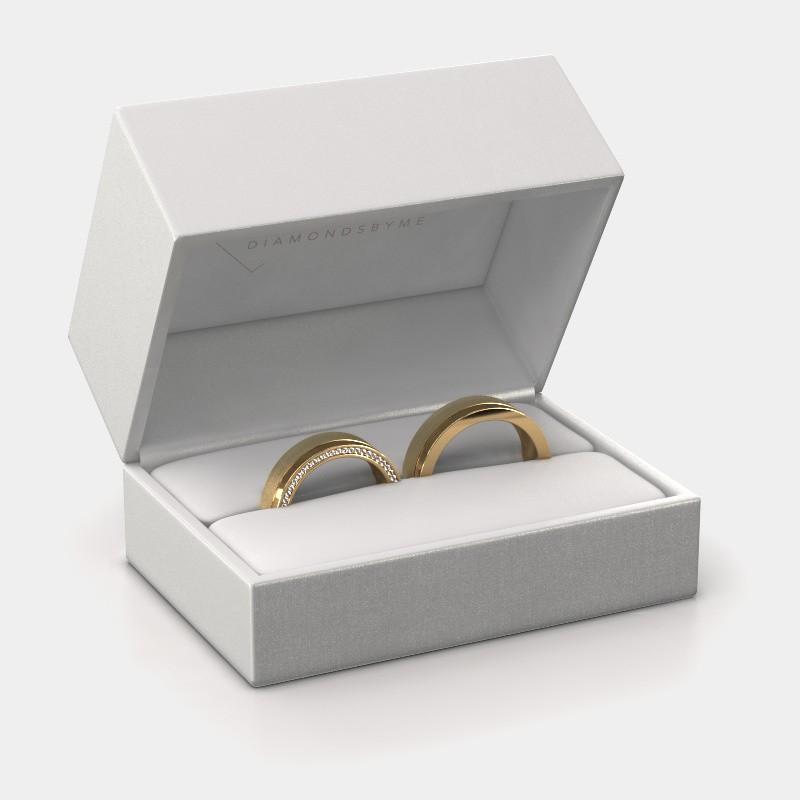 Giftbox wedding rings 3