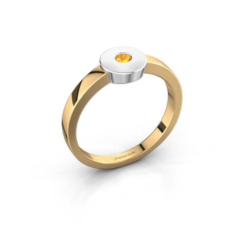 Ring Elisa 585 goud citrien 3 mm