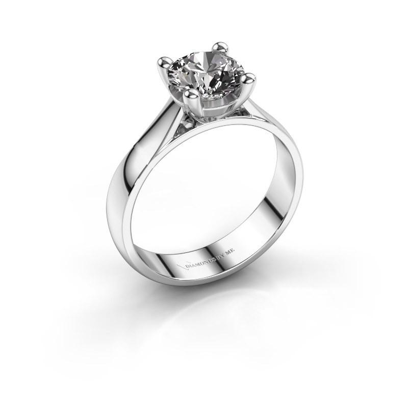 Engagement ring Sam 925 silver diamond 1.00 crt
