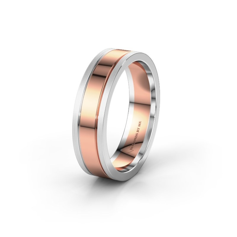 Wedding ring WH0404M16A 585 rose gold ±6x1.7 mm