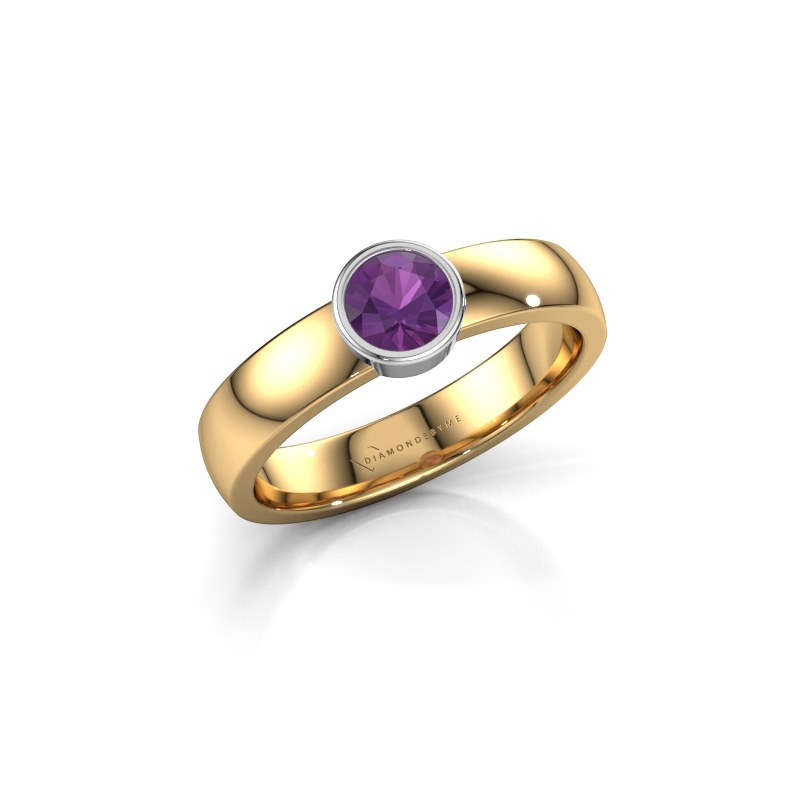 Ring Ise 1 585 gold amethyst 4.7 mm