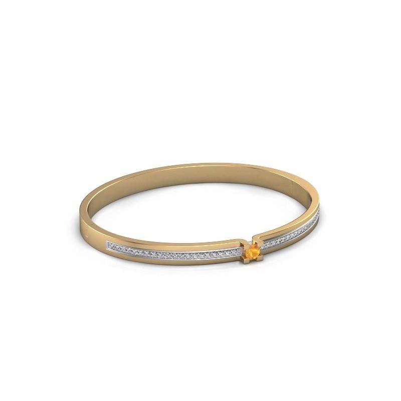 Bracelet Myrthe 585 gold citrin 4 mm